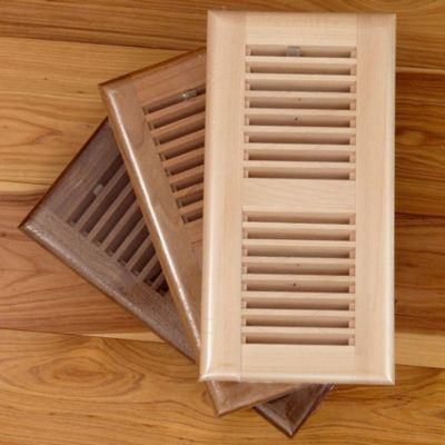 4&#034; x 12&#034; Ash Prefinished  Grill w/flush